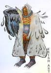 Character design - Garudah