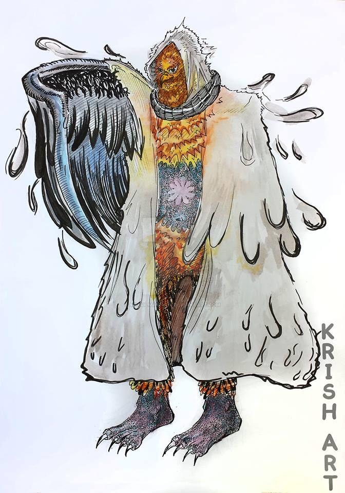 Character design - Garudah by MihailMarinov
