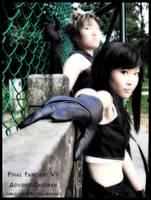 Cloud+Tifa -cosplay- by X-satsuki-X