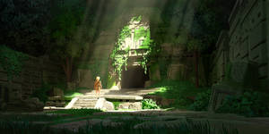 Abandoned Mayan Temple