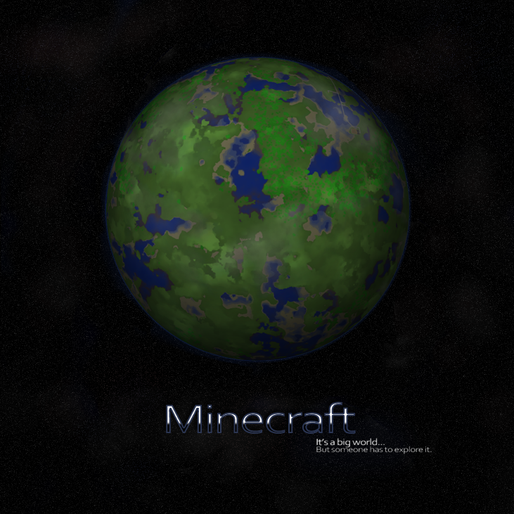 Minecraft Planet by LilioTheOne on DeviantArt