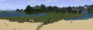 Minecraft Panorama - JohnSmith by LilioTheOne