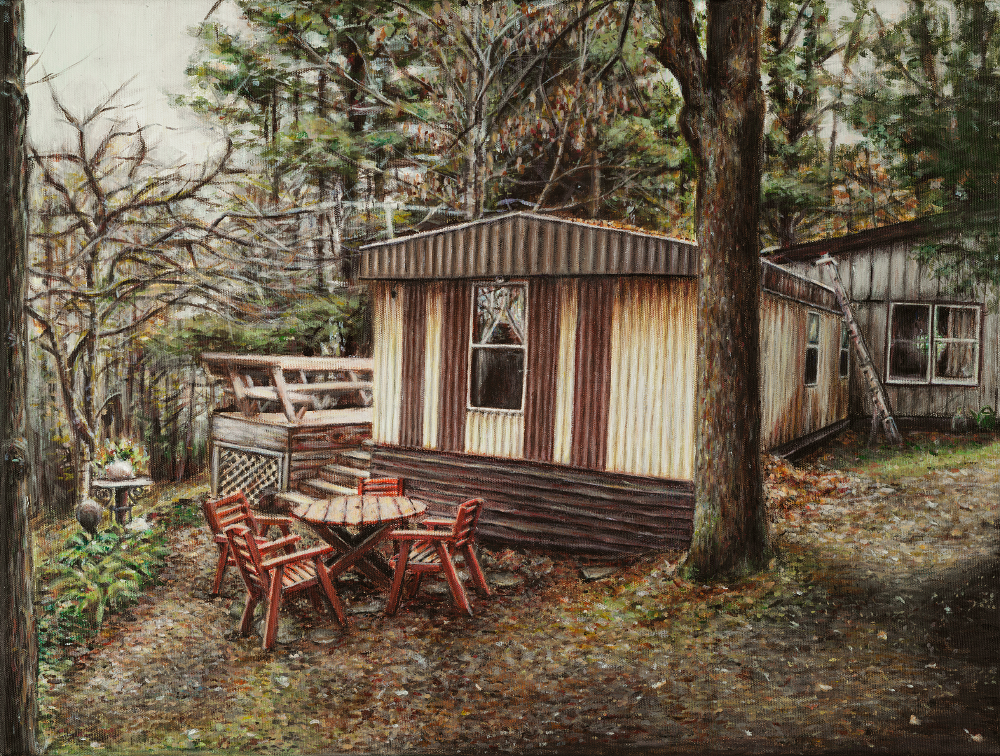 Cabin In The Woods By Liliotheone On Deviantart