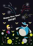 Happy New Year 2019!! by gemstonelover49