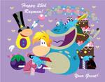 Happy 25th Anniversary Rayman!