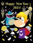 Happy New Year 2021! by gemstonelover49