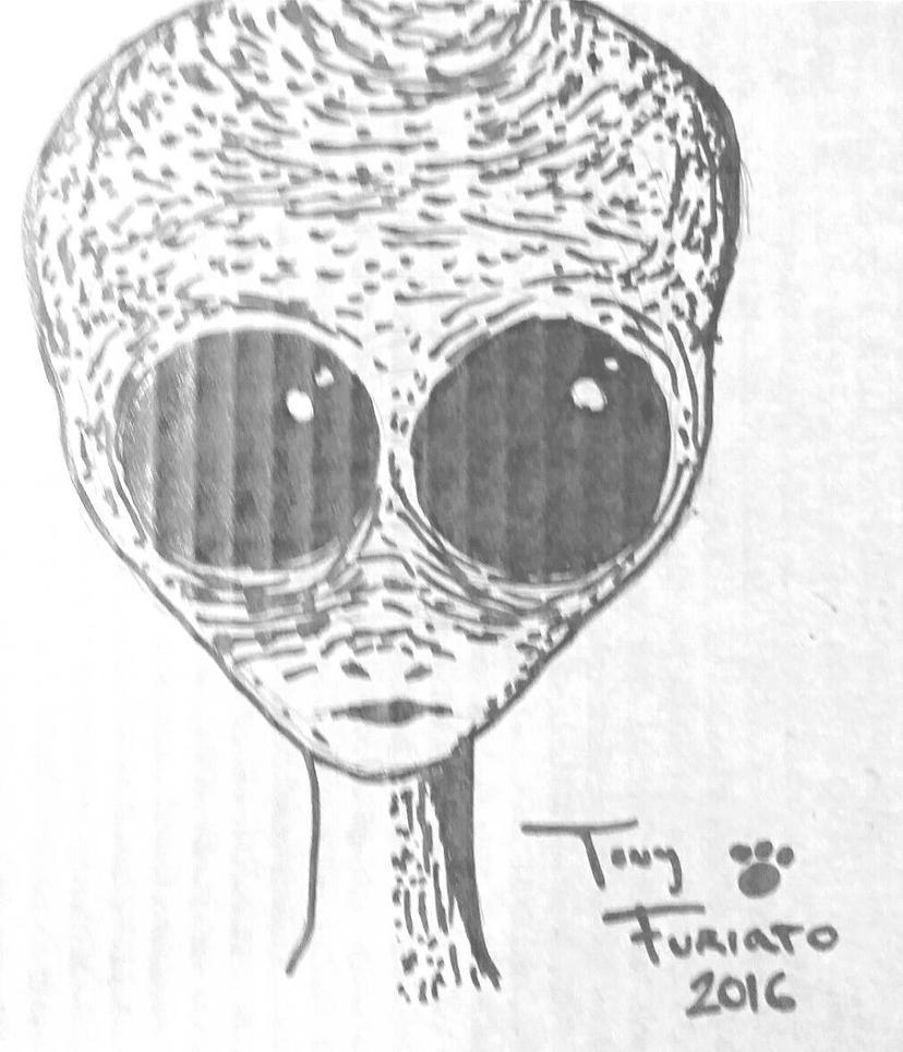 Derrel Sims Alien by AntiSpark