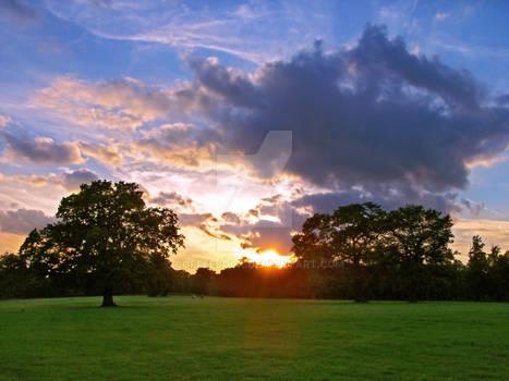 Trent Park Sunset