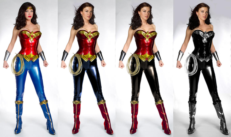 Modern wonder woman costume