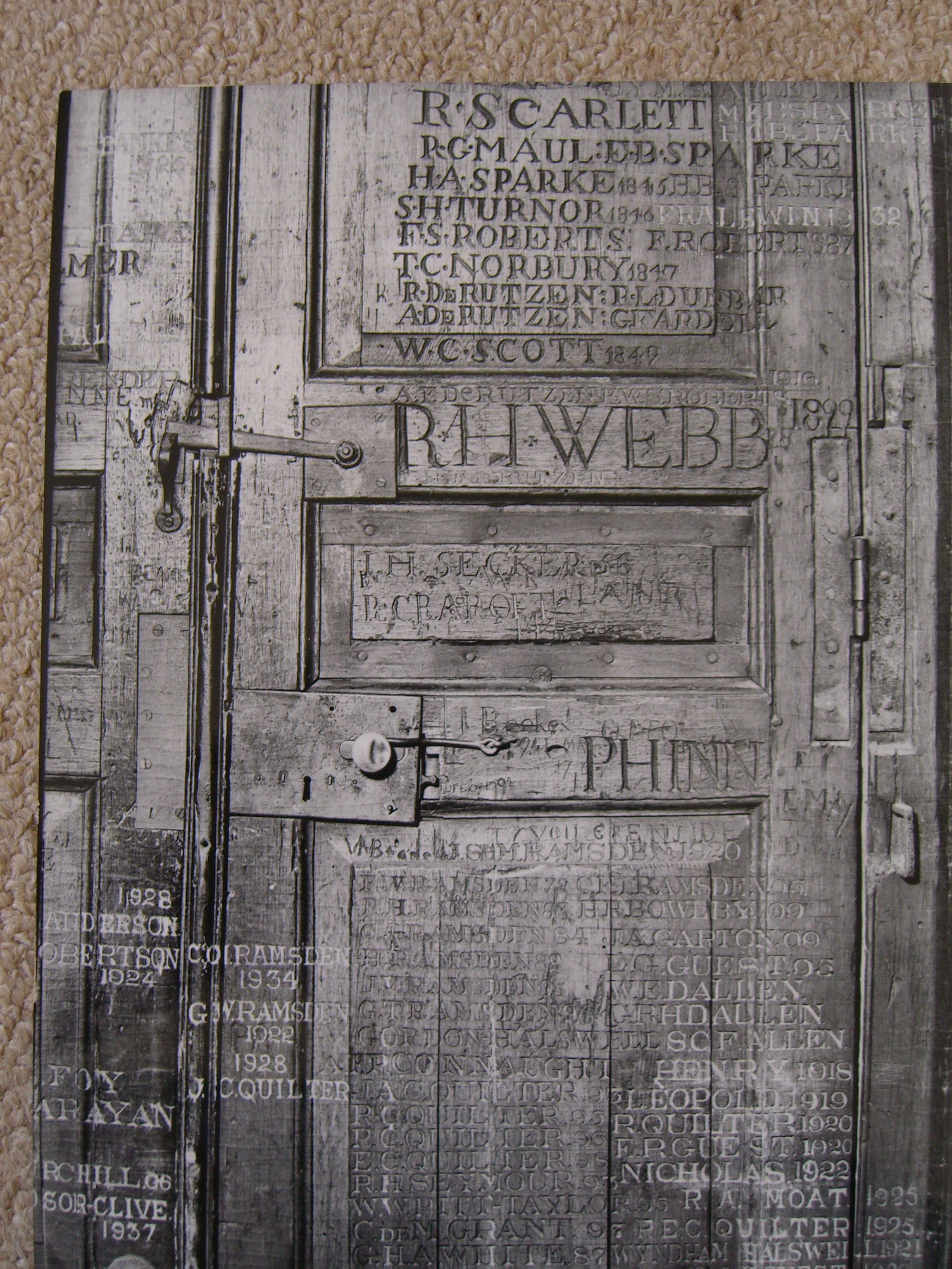 Eton College- Door by impalabee