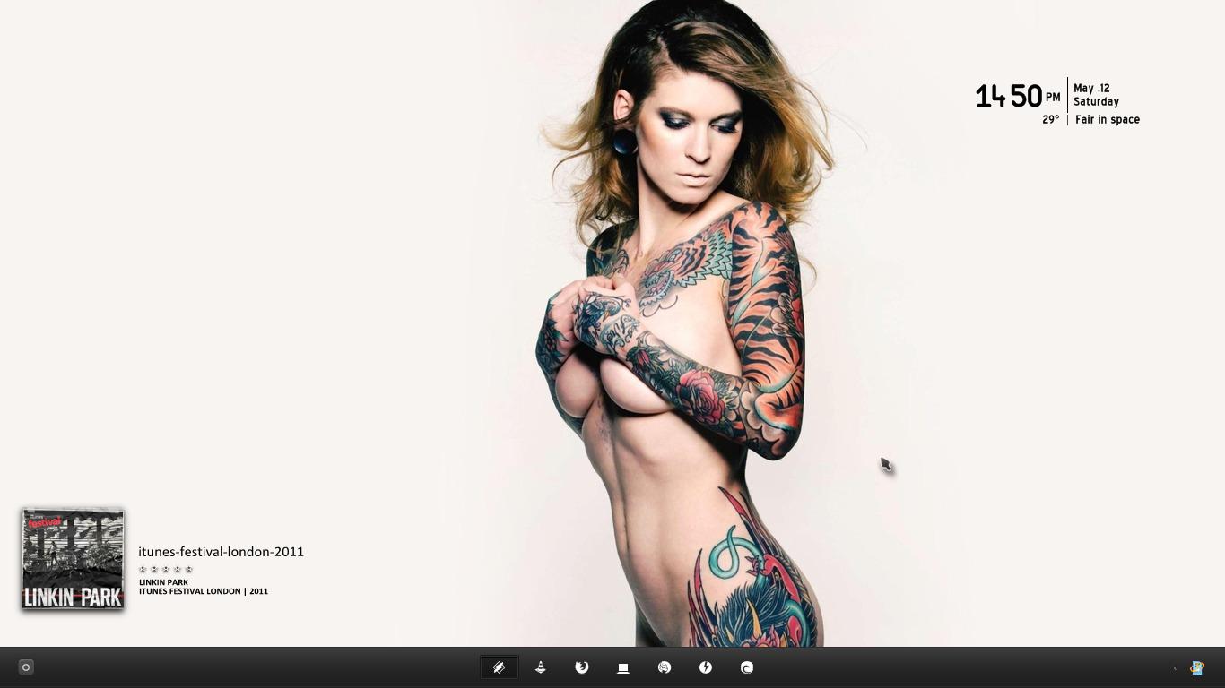 Chica tatuada by qamu74