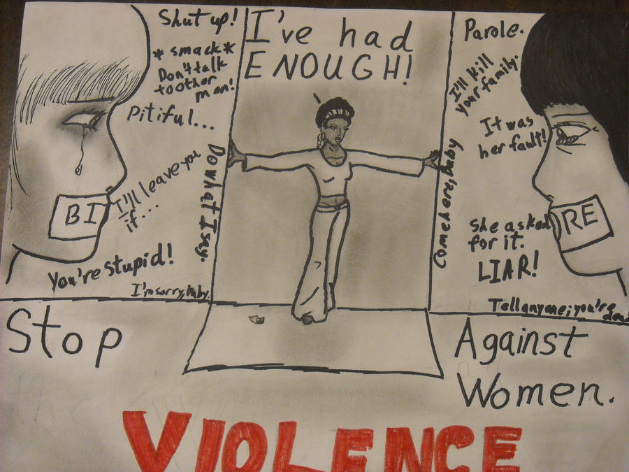 Stop Violence Against Women by TheFanFicAuthor