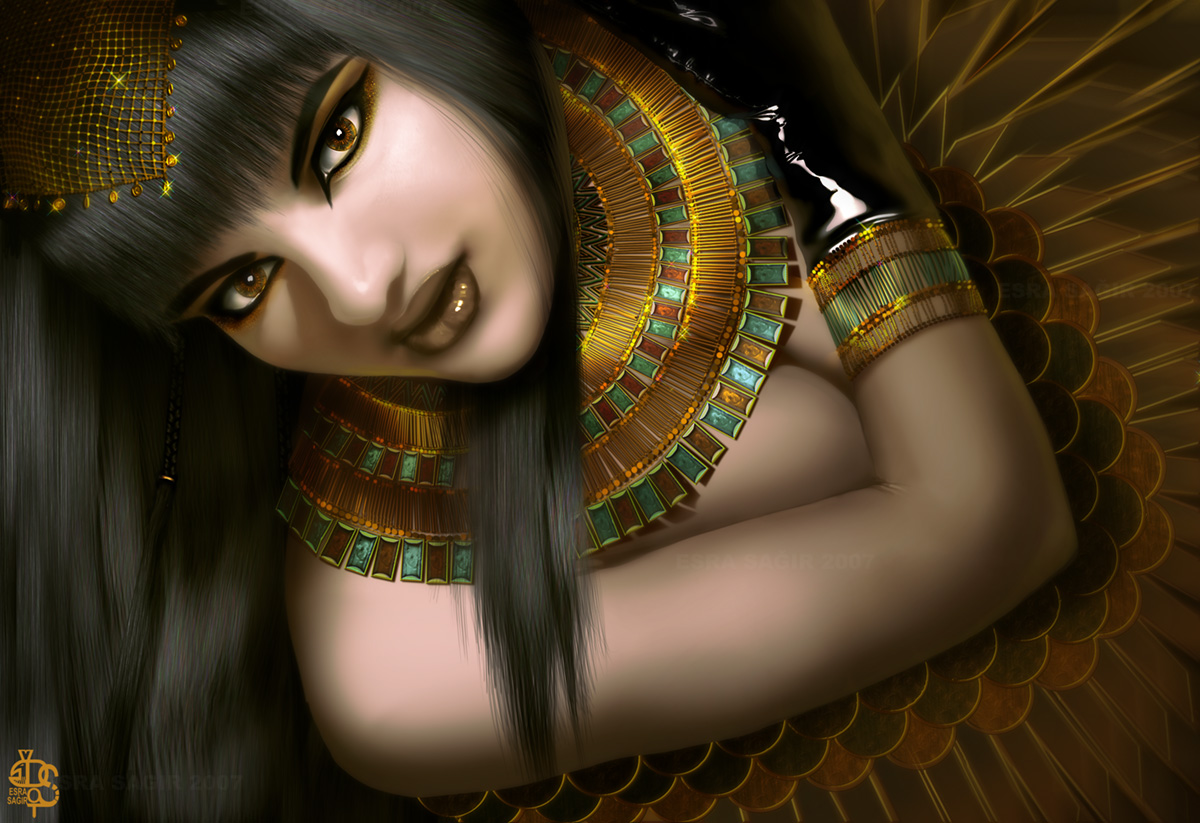 iside Gods of the Ennead: Isis - by Desert-Of-Seth DeviantArt (2007-2017) © dell'autore