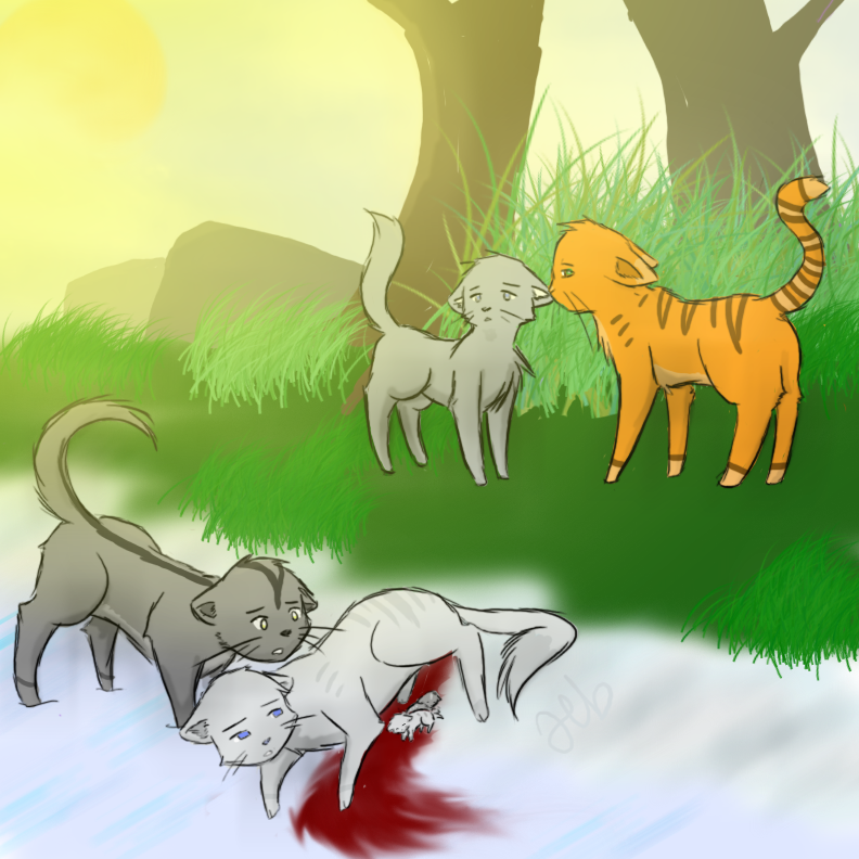 Warriors Forest Of Secrets Lexile: Forest Of Secrets: Silverstream's Death By BriaTheCold On