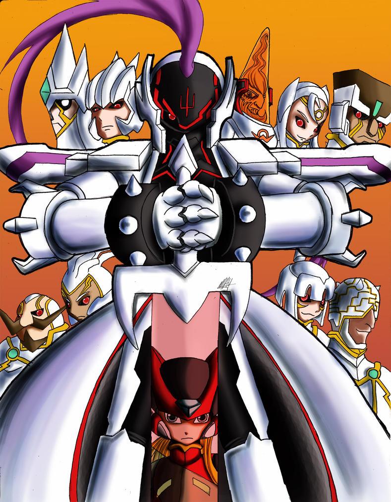 Megaman zero week 3 contest by purpleangelwings on DeviantArt