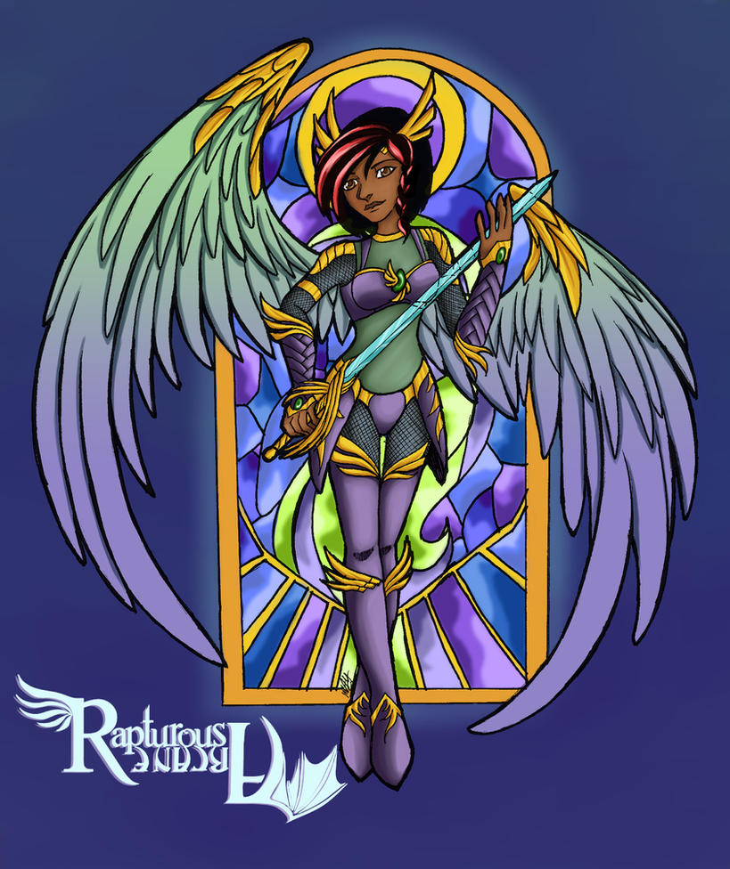 Stain Glass by purpleangelwings