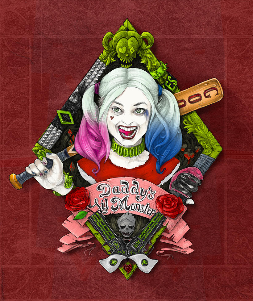Harley Quinn by 3tx