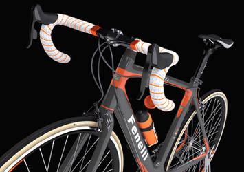 Road bike B by Kafelek