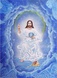 God the Father by Kafelek