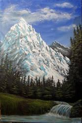 Mountain by Kafelek