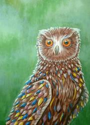 Owl by Kafelek