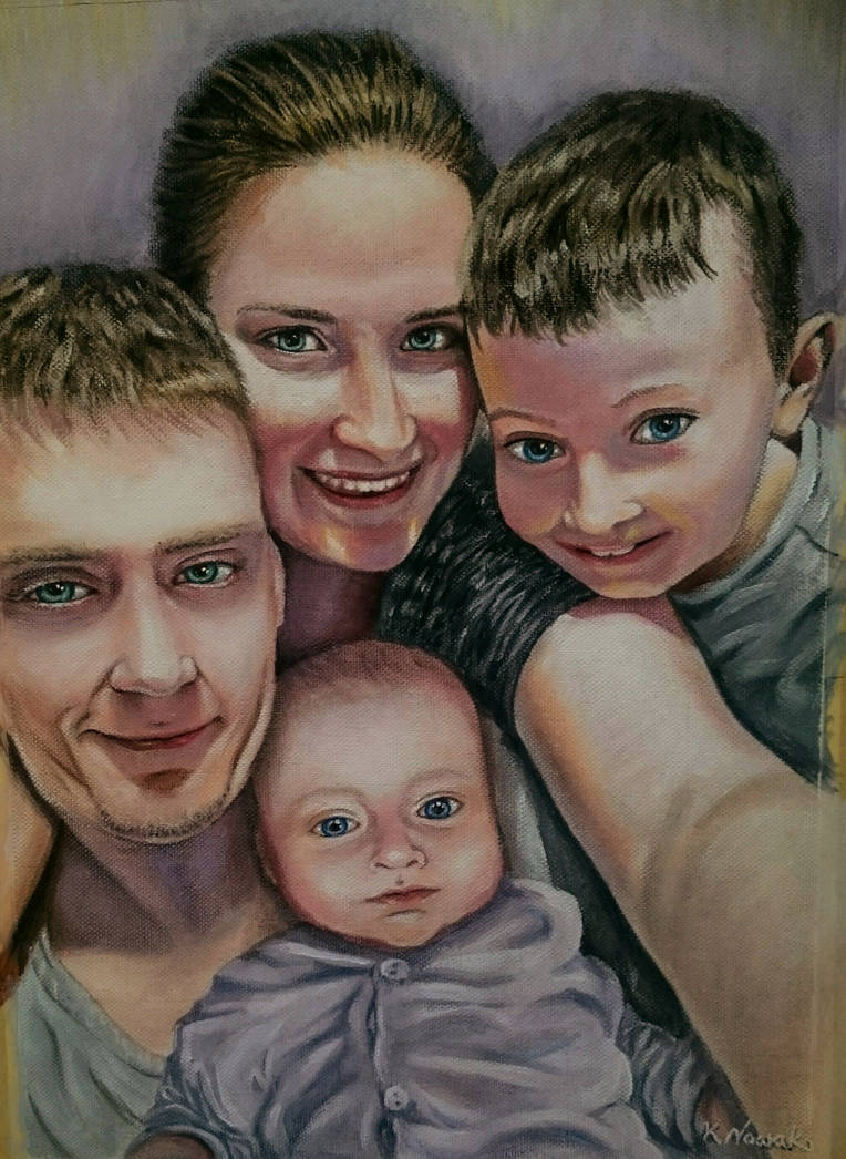 Portret rodzinny by Kafelek