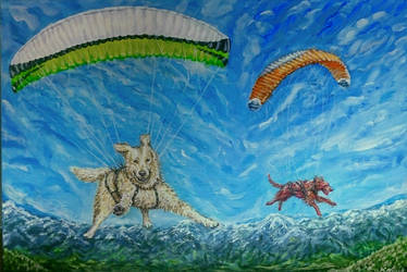 Fly with us dogz