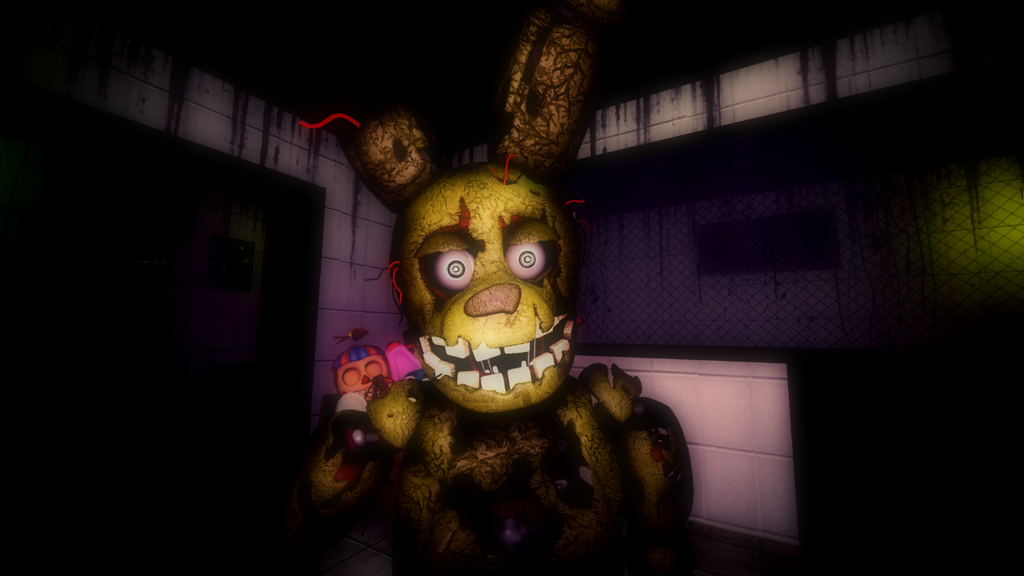 another fnaf 3 official - photo #4
