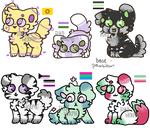 Pride month adopts! (5/6 Open)