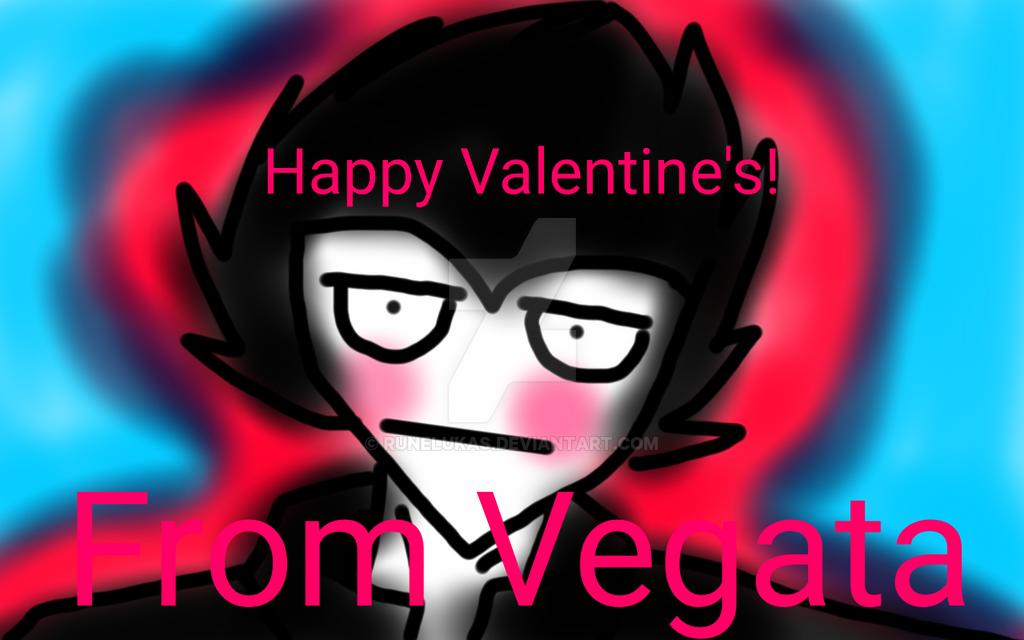 Happy Valentine's From Vegeta by RuneLukas