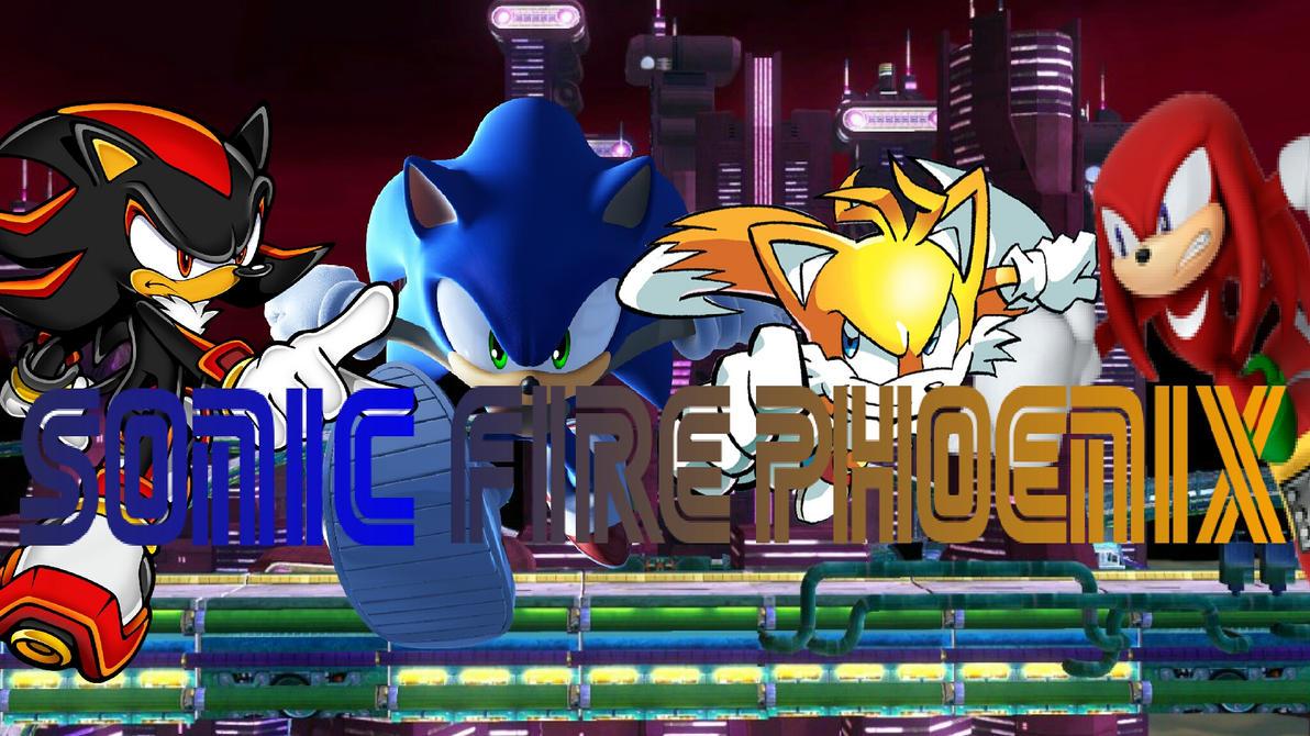 Sonic Fire Phoenix Youtube Banner by RuneLukas