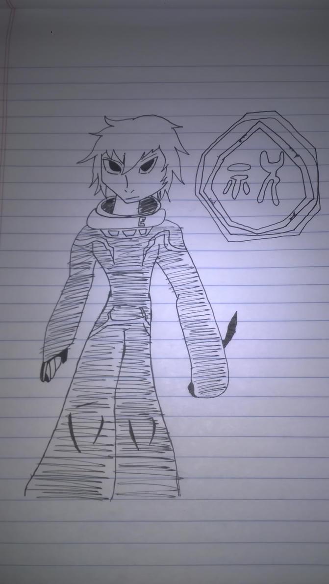 Quick Draw: Kuga-World Trigger by RuneLukas