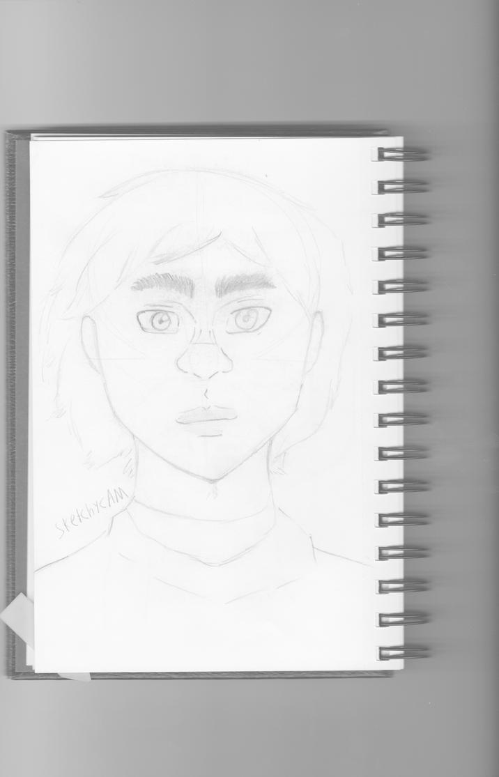 Grayscale Sketch Women by SketchyCAM
