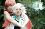Hope and Vanille - Final Fantasy XIII