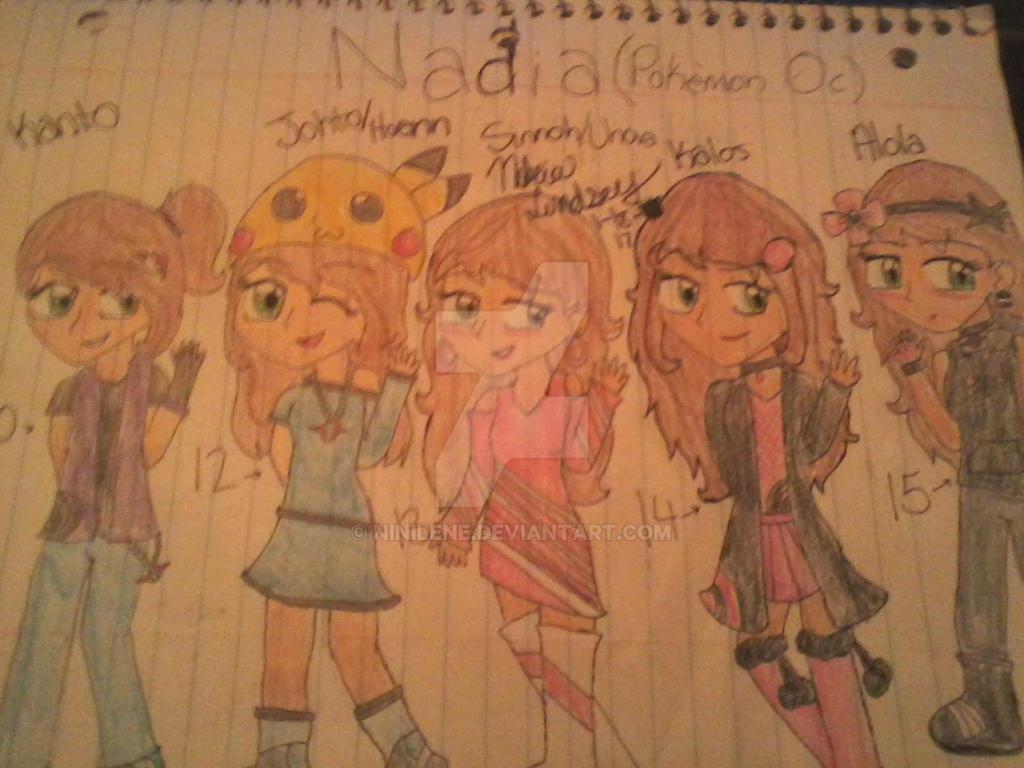 Nadia (My main oc) by Nikki-Is-Kawaii