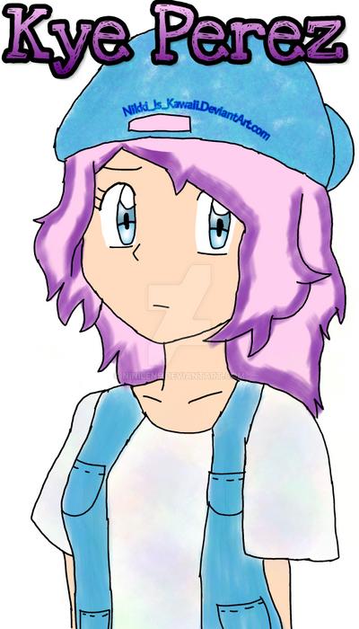 Pokemon OC Kye by Nikki-Is-Kawaii