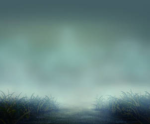 Background Grass Blue by ChaosStocks