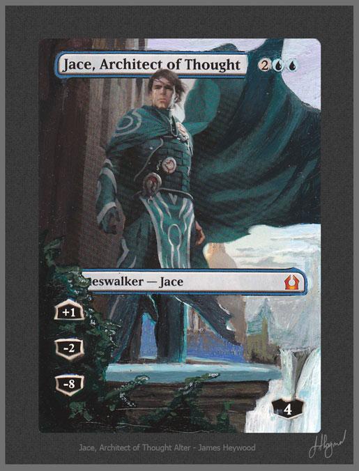 Jace  Architect of Thought  Jace Architect Of Thought Altered
