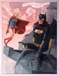 Supergirl and Batgirl New 52