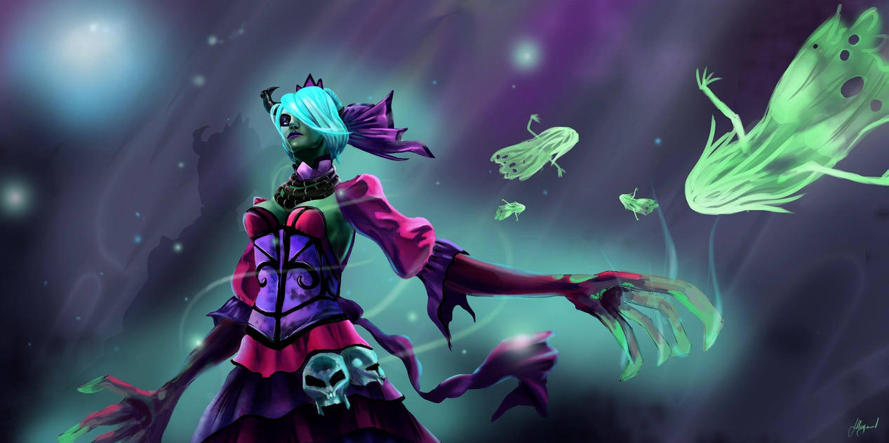 death prophet dota 2 by nilrecurring on deviantart