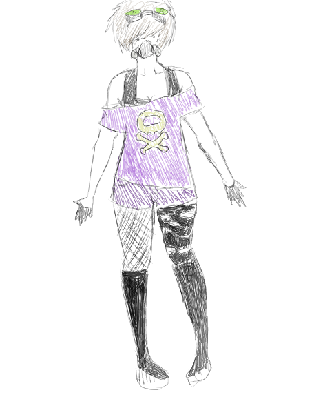 Koffing Gijinka Cosplay Design by DeadlyImperfectionsKoffing Gijinka