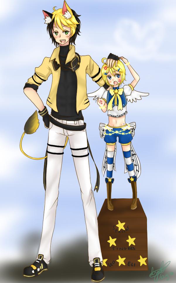 SS: Leo and Eli by Hakiru