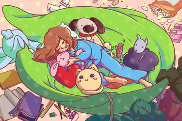 Sleeping Nest by Hakiru