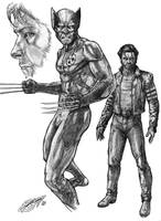 Wolverine Costume Study by DeanZachary