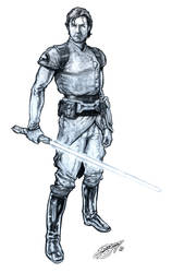 Star Wars' Zayne Carrick by DeanZachary
