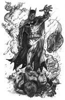Batman vs. Iron Man by DeanZachary