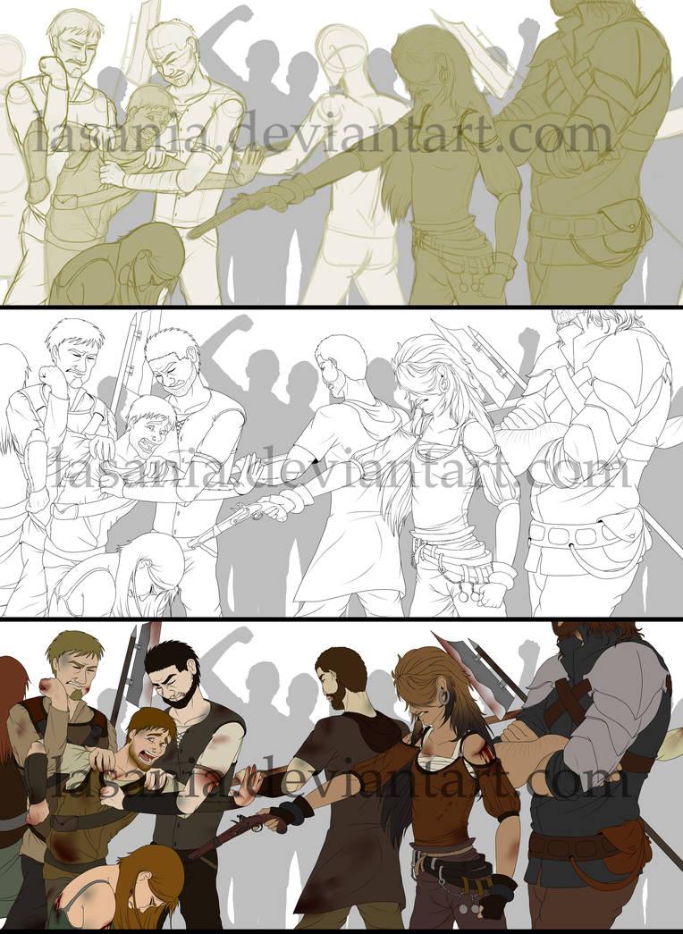 WIP/Step-by-Step ~ Hero of War + join.me [offline] by Lasania