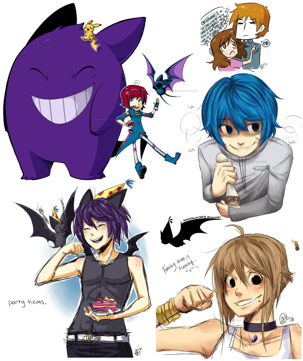 Doodle Dump 2 by AzureKitsune308