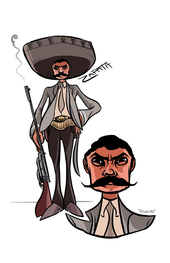 D Artiste Character Design Download : Zapata character designs by danielteran on deviantart