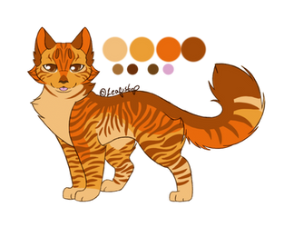 Name/Personality Adopt 7 Fivestripe SOLD by leafstep